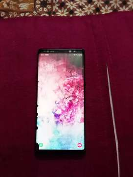 Urgently sell note 8 dual sim