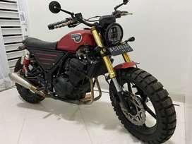 Kawasaki Ninja 250 Custom Scrambler
