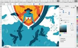 Graphics Design in Coreldraw and Photoshop .