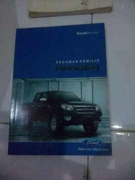 Buku panduan pemilik ford ranger Gen 3.