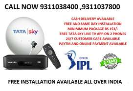 Weekend IPL offer TATA SKY CONNECT WITH 3 YEARS WARRANTY ONLY RS 999/-