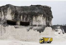 Tambang batu kapur area