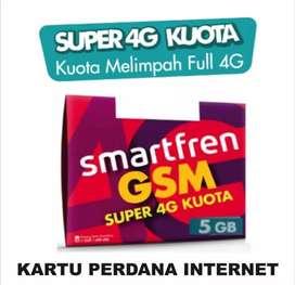 Kartu Perdana Smartfren Super 4G Kuota 5 GB