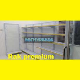 Gondola dinding pabrik rak minimarket supermarket promo harga  murah