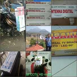 Jual dan pasang antena tv digital surabaya