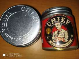 Pomade Chief red solid hold
