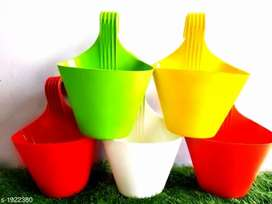 4 pcs hanging flower pot - free delivery cod available