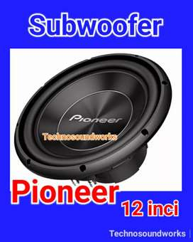 Subwoofer Pioneer bass sub 12 in for sound tv audio velg