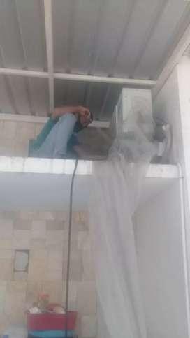 Servis AC mesin cuci kulkas dll