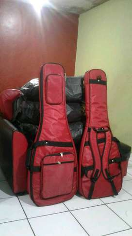 Gigbag gitar elektrik anti air busa tebal