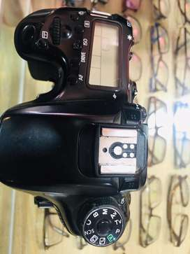 Canon 70 D  only body