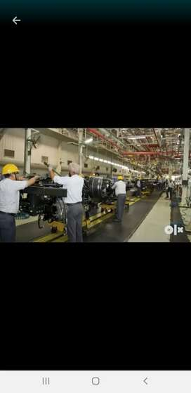 Full Time Job Available In Automobile Company