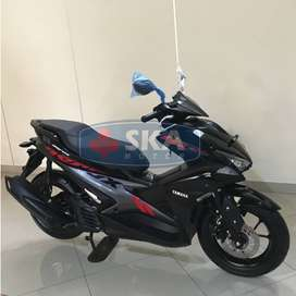 FLASH SALE Cash/Kredit Murah KM 3 Yamaha Aerox 155 STD 2019