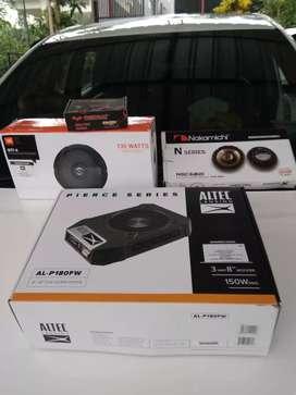 paketan sound system mobil + pasang