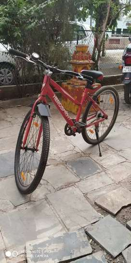 Ladies cycle (red colour)