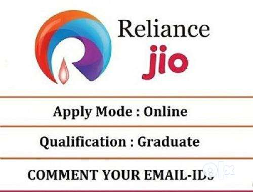 Welcome to Reliance jio company  Male and female candidates both can a 0