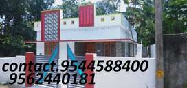 6 cent plot with 1100 sq.ft 3 BHK house in kollam thattamala