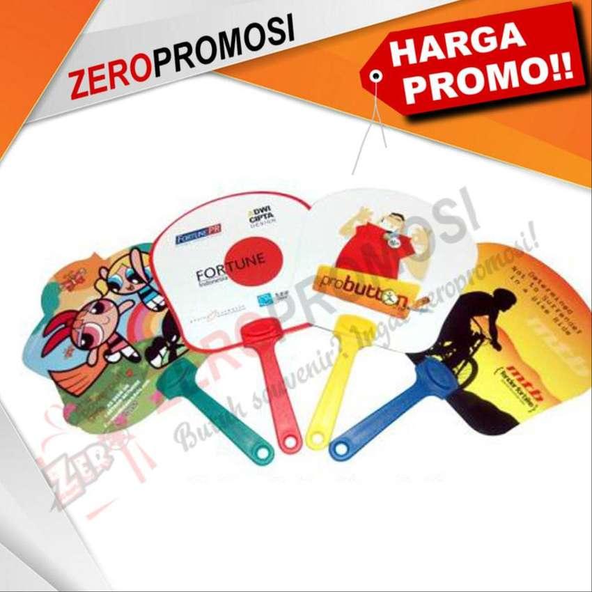 Produksi Kipas Promosi   Bahan Plastik / PVC Harga MURAH