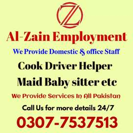 MAIDS AND DOMSTIC HELPES .ETC CALL US