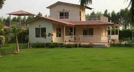 The farmhouse land is available for sale in Noida