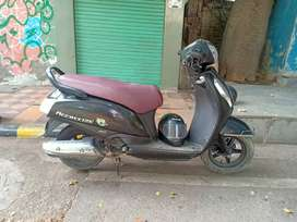 Scooty is in good condition. With all the documents.