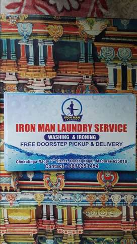 IRON MAN laundry service