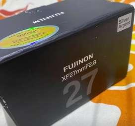 Lensa Fujifilm FUJINON XF27mm F2.8