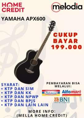 Promo Kredit APX600 Syarat KTP+SIM di Melodia Musik Surabaya