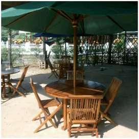 Meja payung taman, pantai, kolam, tempat wisata, kantin, vila, resto
