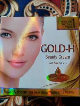 GOLD-H BEAUTY CREAM AND SERUM WITH GILD EXTRACTS