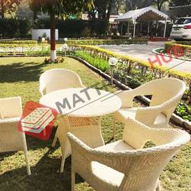 Brand New Garden Table Chair Set by Mattress Hub