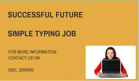 simple typing jobs