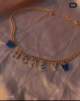 HONEY Butterfly charm chain