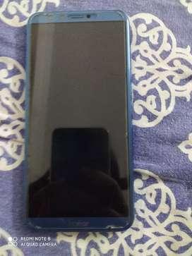Phone of honour 9 Lite black cover