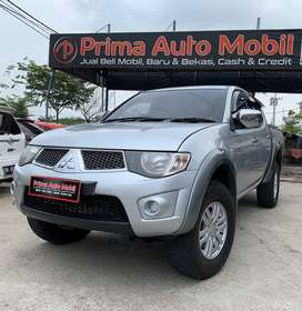 Triton DC 4X4 type GLS 2,5 Turbo Tahun 2015 MT