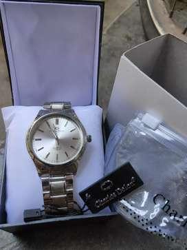 Jam tangan original Charles delon ( Anti Air ) Free box dan ongkir mks