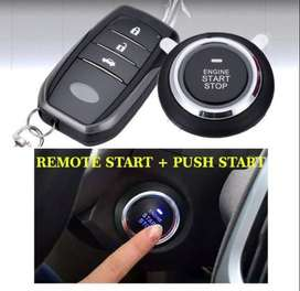 DUAL ENGINE REMOTE START and PUSH START FULL SYSTEM BEST ALL CAR BEST