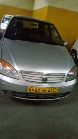 Tata Indica silver color