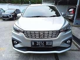 Suzuki Ertiga GX At 2019 Silver Kredit DP Minim Kilometer Rendah