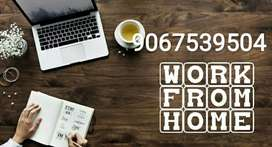 we are offering home based part time job