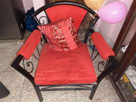Wrought Iron Sofa Set with Centre Table