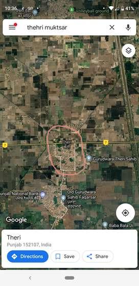 5.75 kille on malout road village thehri, Muktsar