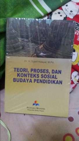 Dijual buku Teori Konteks dan Proses Sosial Budaya Pendidikan