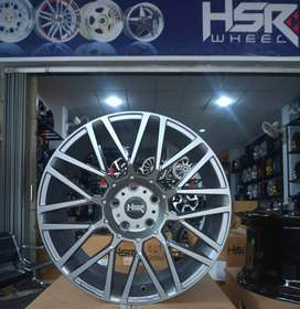 jual hsr wheel ring 18x8 h5x114,3 semi matt grey