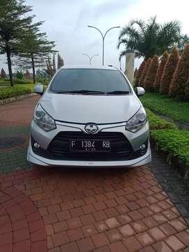 Toyota agya 1.2 TRD s a/t th.2017. Bisa kredit