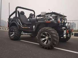 Open jeeps