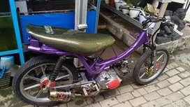 Suzuki Sp 125 Modif Sepeda, kondisi Mulus, Pelek Racing