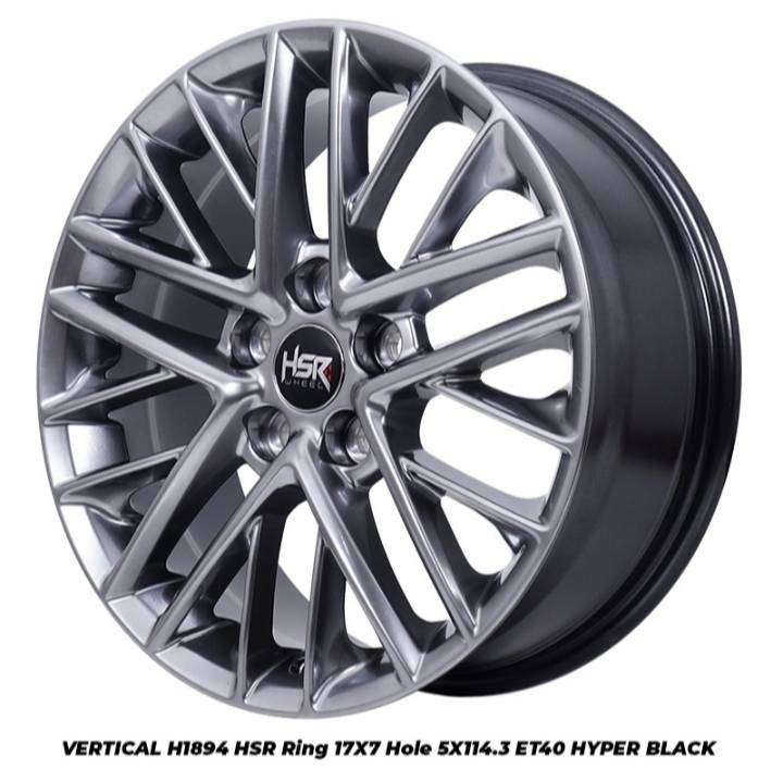 velg mobil racing VERTICAL HSR Ring 17 pcd 5X114,3 XOVER CAMRY RUSH 0