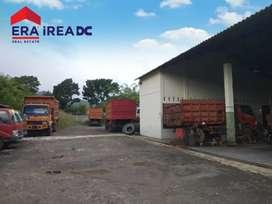 Garasi Truk Gudang Tanah Bawen Semarang