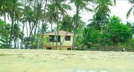 Villa with sea view on Cherai Beach Road